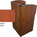 Amplivox SN3620-CH Oracle Podium with Viewport - Cherry Lecturn