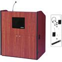 Amplivox SW3430-CH Multimedia Smart Podium - Wireless Sound- Cherry