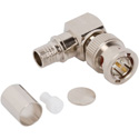Photo of  Amphenol 031-70545-12G Right Angle Crimp Plug 12G BNC Connector for Belden 4794R Cable - 75 Ohm