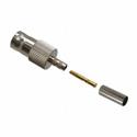 Amphenol 112559 BNC 4GHz Straight Crimp Female Jack for RG-180 RG-195 & Belden 1855A & 8218 75 Ohm