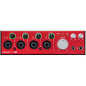 Focusrite Clarett 4Pre USB 18-In 8-Out Audio Interface for PC and Mac