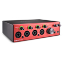 Focusrite Clarett+ 4Pre USB-C 18-In / 8-Out Audio Interface for PC and Mac