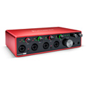 Focusrite Scarlett 18i8 (3rd Gen) Expandable 4-Pre Audio Interface with I/O Capabilities