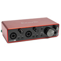 Focusrite Scarlett 2i2 (3rd Gen) USB Audio Interface - Bstock - New Unit - NO Packaging - Can be Registered