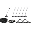Anchor Audio CM-6 CouncilMAN 6 person Conference System Package