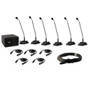 Anchor CM-6W CouncilMAN 6 person Conference System Package with WH-LINK wireless handheld mic