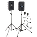 Anchor Go Getter Deluxe Air Package 2 w/ GG2XU2 GG-AIR 2 SS-550 2 WB-Link BPs w/ 2 Lapel & HS mics - Li-Ion