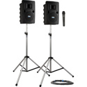Liberty LIB-DP1-H Deluxe Package 1 with LIB2-U2 LIB2-COMP SC-50NL 2 SS-550 and 1 WH-LINK Wireless Handheld Mic Li-Ion