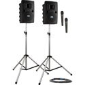 Liberty 2 LIB-DP2-HH Deluxe Pkg 2 with LIB2-U2 LIB2-COMP SC-50NL 2 SS-550 and 2 WH-LINK Wireless Handheld Mics Li-Ion