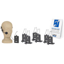 Anchor TOUR-9000 Wireless Tour Guide Audio Listening Package for up to Six Users