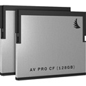 Angelbird Angel-AVP128CFX2 AVpro CFast 2.0 128GB - 2 Pack