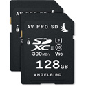 Angelbird Angel-AVP128SDX2 AVpro SD Memory Card - 128GB - 2 Pack