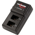 Ansmann 1001-0063-US Plug-in Charging Station for 2 9Volt NiMH Batteries