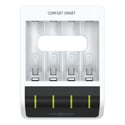 Ansmann 1001-0092 Comfort Smart USB Powered Battery Charger for up to 4x AA or AAA Batteries