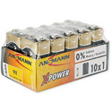 Ansmann 5015711 X-Power Premium Alkaline 9 Volt Batteries - 10 Pack