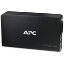 APC C2 AV C Type 2-Outlet Wall Mount Power Filter 120V (Black Only)