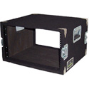 Grundorf AR-06DR Amp Rack Case 6RU Black Carpet