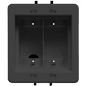 Arlington DVFR2BL-1 Recessed Electrical Outlet Mounting Box with Paintable Wall Plate
