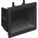 Arlington DVFR3BL-1 3 Gang Recessed Electrical Inset Outlet Mounting Box
