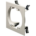 Arlington LV2RP 2-Gang Low Voltage Mounting Bracket White