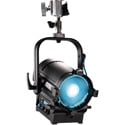 ARRI L0.0001952 L5-C 5 Inch LED Fresnel - Black / Pole Operated (barndoors not included)