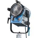 ARRI L1.41250.H True Blue T2 Fresnel Spotlight - Hanging - Blue/Silver - Bare Ends