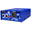 ARX PDI-2 Audibox Pro DI Duo Stereo Active Direct Box with High-Z & Speaker In