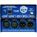 ARX USB I/O (USB-3) Audibox USB I/O Balanced Stereo XLR Inputs & Outs USB DI Box