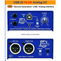 ARX USB-7 Second Generation 24 bit USB DI with Digital and Analog Interface with Volume Control