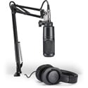 Audio-Technica AT2020PK Streaming/Podcasting/Voiceover Pack