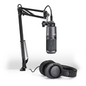 Audio-Technica AT2020USBplusPK USB Streaming/Podcasting/Voiceover Pack