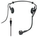 Light Beige Countryman MHCW5HH05LAT  W5 ISOMAX Cardioid Headset Microphone for Audio Technica Transmitters