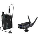 Audio-Technica ATW-1701-L Portable Camera-Mount Digital Wireless System w/ MT830cW Lavalier Microphone
