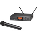 Audio-Technica ATW-2120BI 2000 Series ATW-2120 Wireless Handheld Microphone System - 487.125 - 506.500MHz