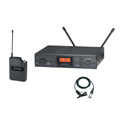 Audio-Technica ATW-2129BI 2000 Series ATW-2129 Wireless Lavalier Microphone System - 487.125 - 506.500MHz