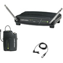Audio-Technica ATW-901A-L System 9 VHF Wireless Unipak Mic System with an Omnidirectional Lavalier Microphone