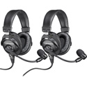 Audio-Technica BPHS1 Broadcast Stereo Headset - 2 Pack