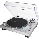 Audio-Technica AT-LP120XUSB-SV Direct-Drive Turntable - Analog & USB - Silver