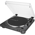 Audio-Technica AT-LP60XBT-USB-BK Fully Automatic Wireless Belt-Drive Turntable (USB & Analog) - Black