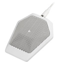 Audio-Technica U851RWb Cardioid Condenser Boundary Mic with Integral Power Module - Phantom Power Only - White