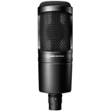 Audio-Technica AT2020 Cardioid Condenser Side-Address Studio Microphone
