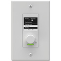 Attero Tech Axon C1-W In-Wall Remote Controller 1 Gang White Inserts and Decora Plates