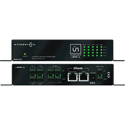 Attero Tech UND4I-L 4 Channel Input Dante Networked Audio Interface with Logic I/O PoE or 24VDC