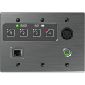 Attero Tech Zip4-3G 4-Zone Dante Paging Interface - 3 gang