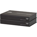 ATEN CE610A DVI HDBaseT KVM Extender with ExtremeUSB-TAA Compliant - 1 Computer(s)