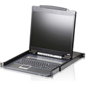 Aten CL3000N Light Weight 19 Inch LCD Console - TAA Compliant