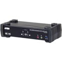 ATEN CS1922M KVM Switchbox 2-Port USB 3.0 4K DisplayPort MST KVMP Switch (Cables Included)