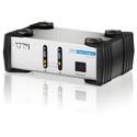 ATEN VS261 2x1 DVI Video with RCA Stereo Audio Switcher