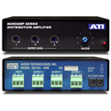 ATI DA103 1X3 Distribution Amp w/Plus-22dBm Servo Balanced Outputs