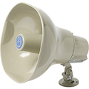 Atlas AP-30TC Horn Loudspeaker with 25V/70.7V/100V-30W Transformer - Beige